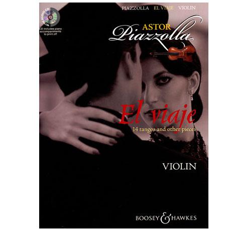 Piazzolla, A.: El Viaje (+CD)