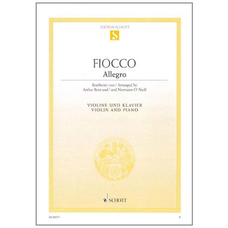Fiocco, Joseph-Hector: Allegro
