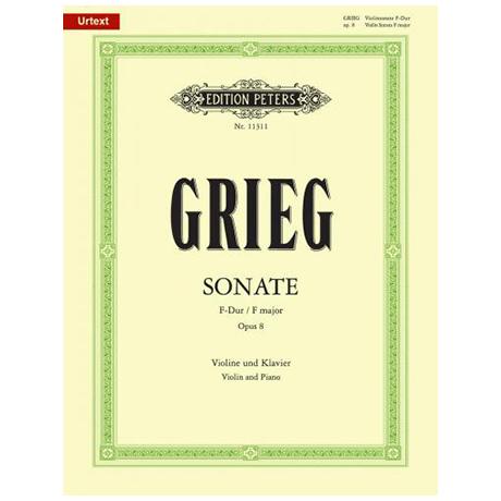 Grieg, E.: Violinsonate Nr. 1 Op. 8 F-Dur