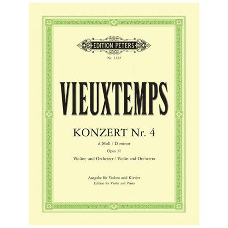 Vieuxtemps, H.: Konzert Nr. 4 Op. 31