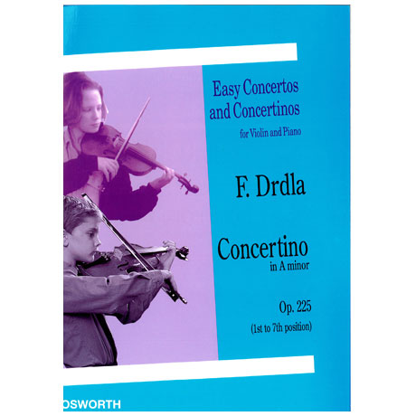 Drdla, F.: Concertino in a-moll op. 225