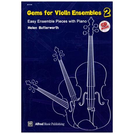 Gems For Violin Ensembles Band 2 (+CD)