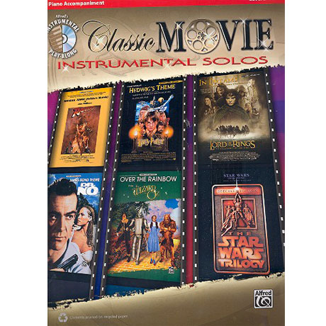 Classic Movie Instrumental Solos – Klavierbegleitung (+CD)