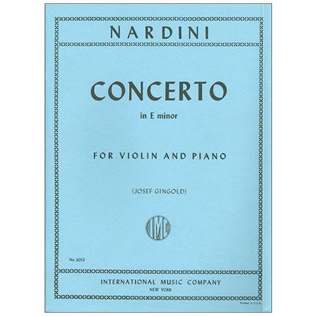 Nardini, P.: Konzert in e-moll