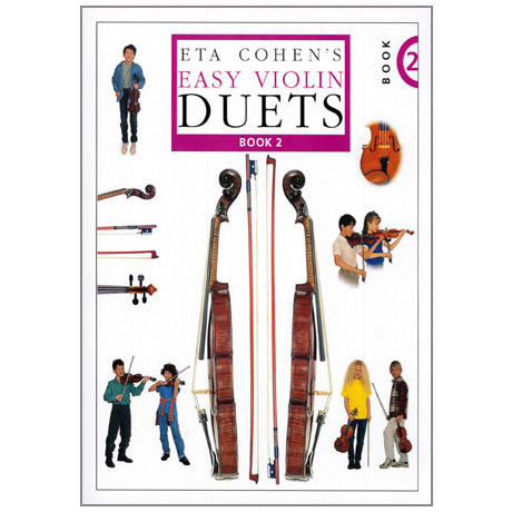 Eta Cohen: Easy Violin Duets Band 2