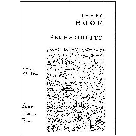 Hook, J.: Sechs Duette