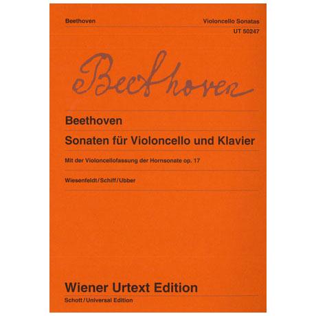 Beethoven, L.v.: Sonaten für Violoncello und Klavier