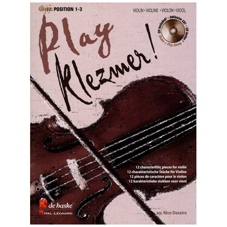 Play Klezmer! (+CD)