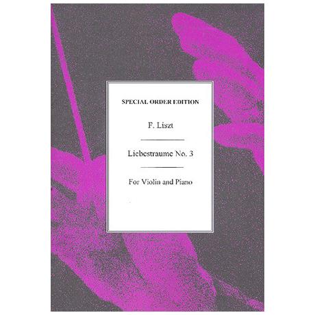 Liszt, F.: Liebestraum Nr. 3 – Nocturne