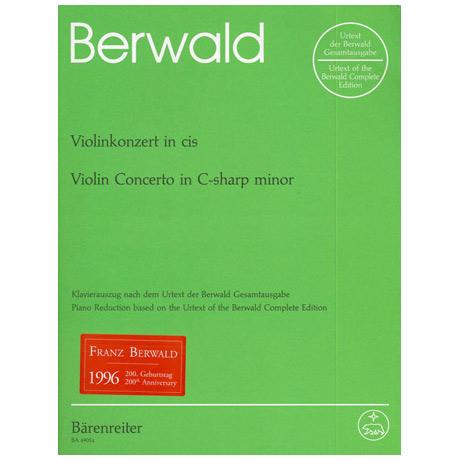 Berwald, F.: Violinkonzert cis-Moll