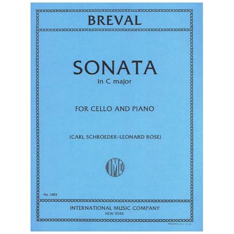 Bréval, J. B.: Violoncellosonate C-Dur