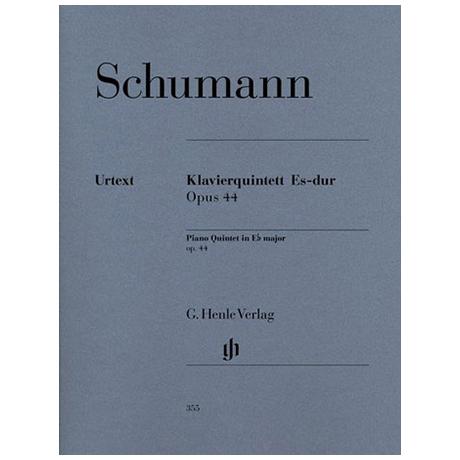 Schumann, R.: Klavierquintett Es-Dur Op. 44 Urtext