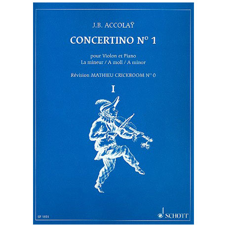 Accolay, J.B.: Concertino Nr.1 a-Moll