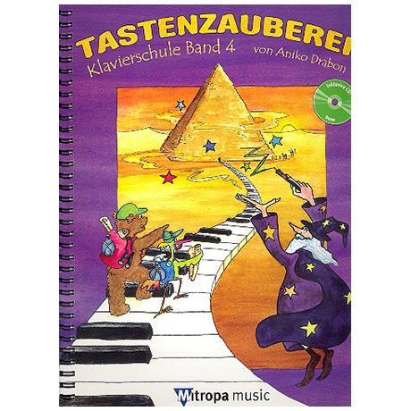 Drabon, A.: Tastenzauberei Band 4 (+CD)