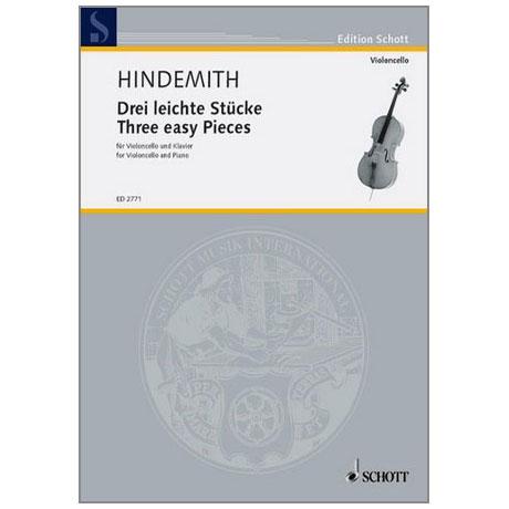 Hindemith, P.: 3 leichte Stücke