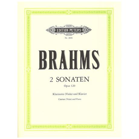 Brahms, J.: Violasonaten Op.120/1-2