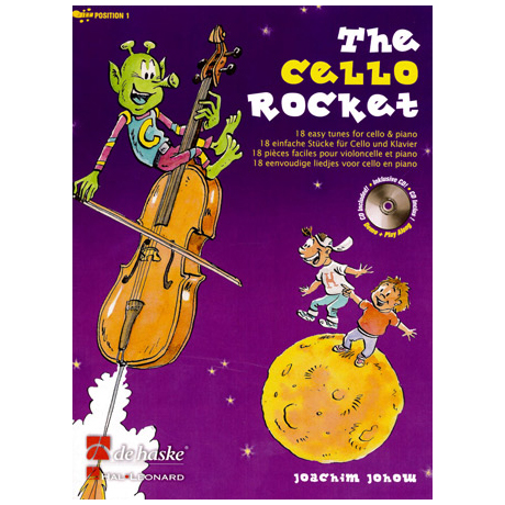 The Cello Rocket (+CD)