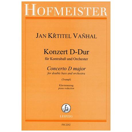 Vanhal, J. B.: Kontrabasskonzert D-Dur