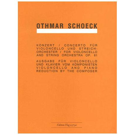 Schoeck, O.: Konzert Op.61