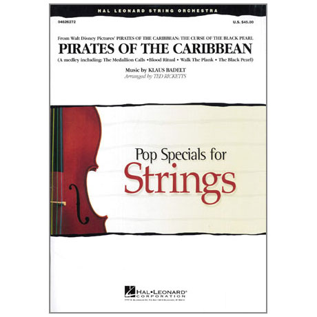 Pop Specials for Strings - Medley from Pirates of the Caribbean Band 1