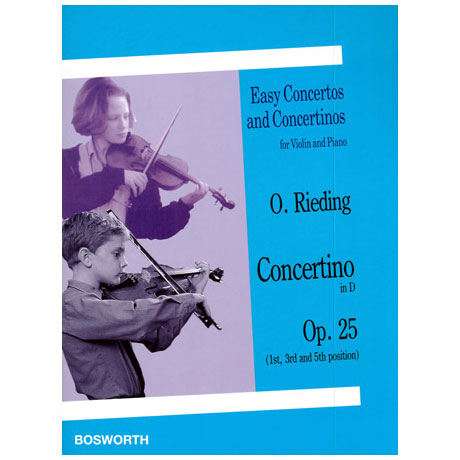Rieding, O.: Concertino in D-Dur op.25