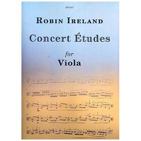 Ireland, R: Concert Études