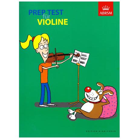 Prep Test für Violine
