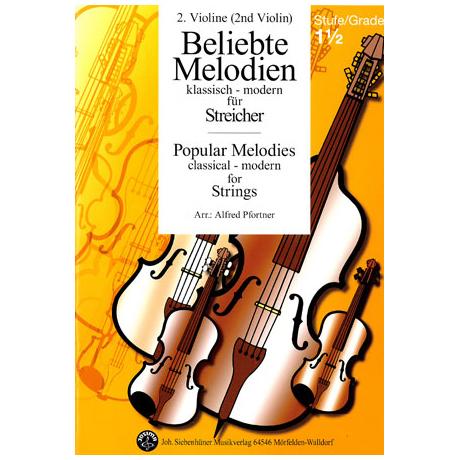 Beliebte Melodien: klassisch bis modern Band 2 – Violine 2