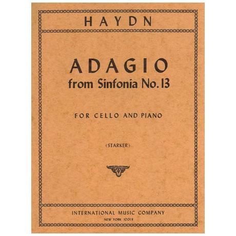 Haydn, J.: Adagio aus der Symphonie Nr. 13 (Hob. I Nr. 13)