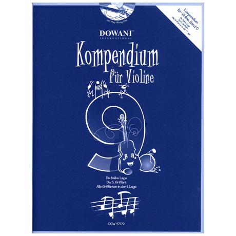 Kompendium für Violine - Band 9 (+CD)