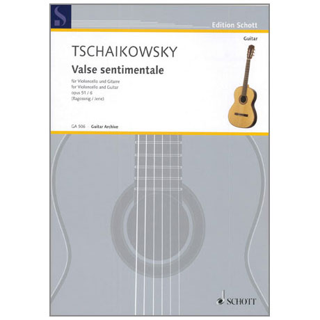 Tschaikowski, P.I.: Valse sentimentale Op.51/6