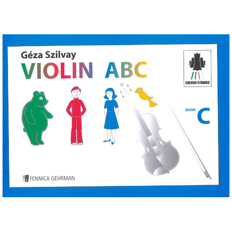 Colourstrings Violin ABC Book C