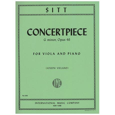 Sitt, H.: Konzertstück in g-moll op. 46