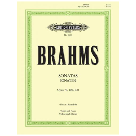 Brahms, J.: 3 Violinsonaten