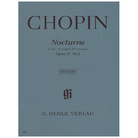 Chopin, F.: Nocturne G-Dur Op. 37,2