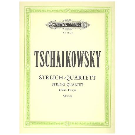 Tschaikowski, P.I.: Streichquartett Nr.2 F-Dur, Op.22