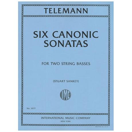 Telemann, G. Ph.: 6 kanonische Sonaten