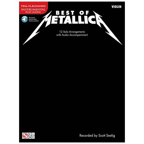 Best of Metallica (+Online Audio)