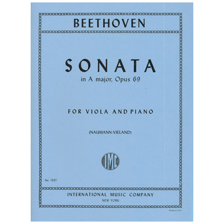 Beethoven, L.v.: Cellosonate A-Dur op. 69