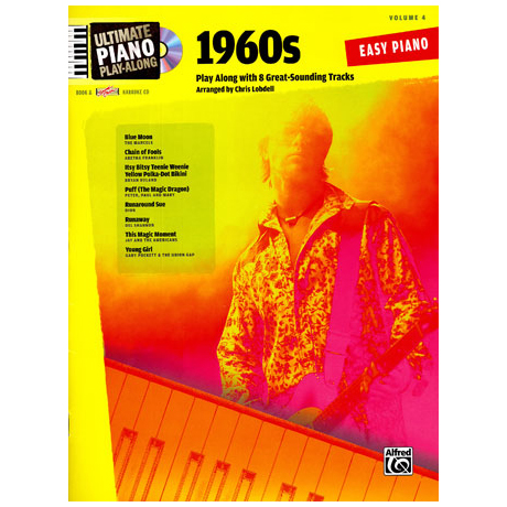 Ultimate Piano Play-Along – 1960s (+CD)