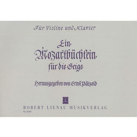 Mozart, W.A.: Ein Mozartbüchlein für die Geige
