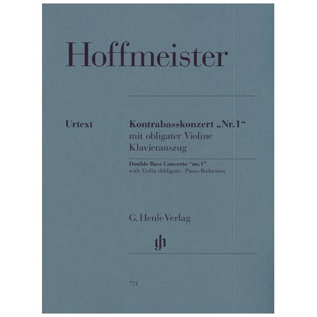 Hoffmeister, F.A.: Konzert Nr. 1 für Kontrabass und Orchester