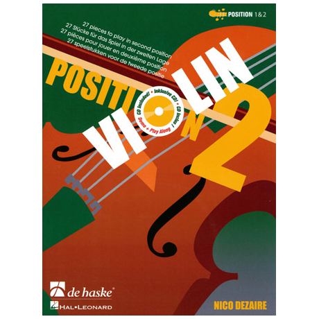 Dezaire, N.: Violin Position 2 (+CD)
