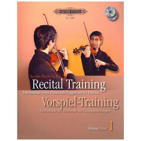 Wartberg, K.: Vorspiel Training Band 1 (+2CDs)