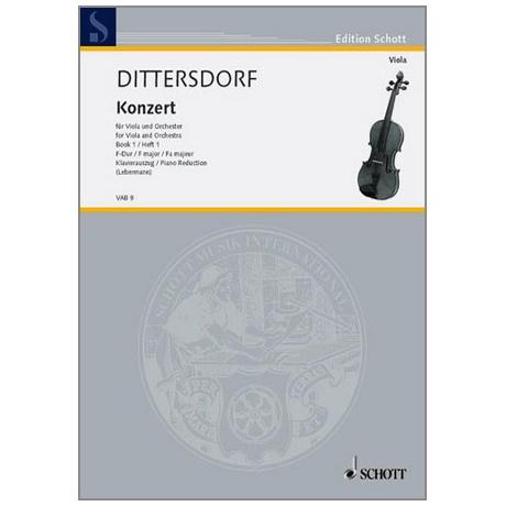 Dittersdorf, K. D. v.: Violakonzert F-Dur Krebs 168