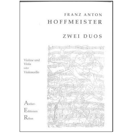 Hoffmeister, F.A.: 2 Duette