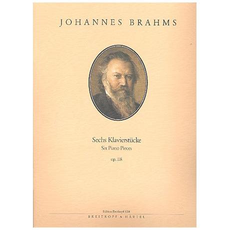 Brahms, J.: Sechs Klavierstücke Op. 118
