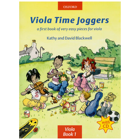 Blackwell: Viola Time Joggers - Band 1 (+CD)