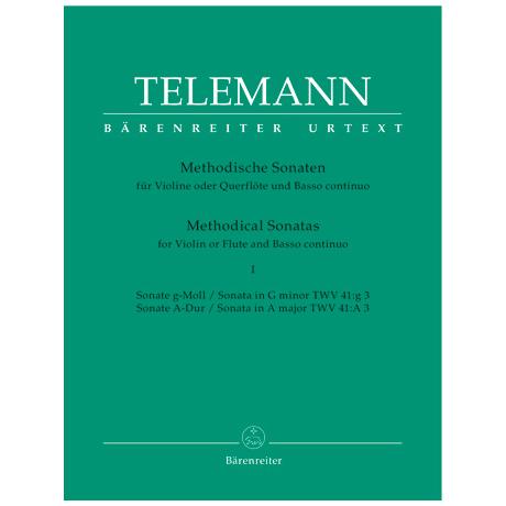 Telemann, G. Ph.: Methodische Sonaten - Band 1