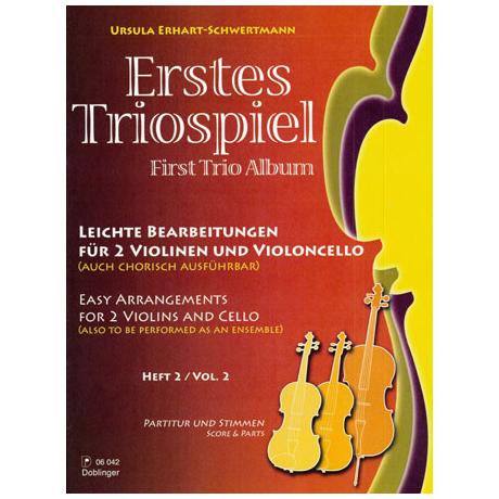 Erhart-Schwertmann, U.: Erstes Triospiel Band 2